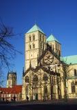Igreja em Munster imagens de stock royalty free
