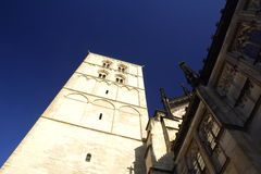Igreja em Munster fotografia de stock royalty free
