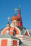 A igreja em nome do mártir santamente Tryphon A igreja ortodoxa Foto de Stock