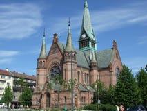 Igreja em Oslo imagens de stock
