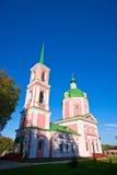 Igreja em Ovstug Fotografia de Stock Royalty Free