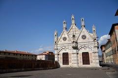 Igreja em Pisa, Italy Foto de Stock