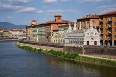 Igreja em Pisa, Italy Imagens de Stock