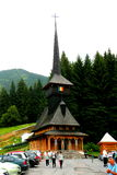 Igreja em Poiana Brasov, Fotos de Stock Royalty Free