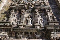 Igreja em Porto fotografia de stock royalty free