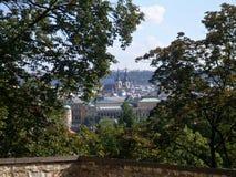 Igreja em Praga longe Fotos de Stock