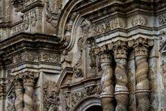 Igreja em Quito, Equador de Compania do La Fotografia de Stock