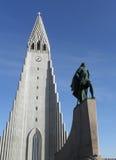 Igreja em reykjavik Imagens de Stock Royalty Free