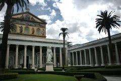 Igreja em Roma foto de stock