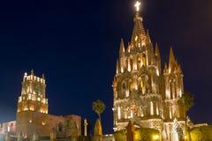 Igreja em San Miguel Imagens de Stock Royalty Free