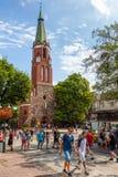 Igreja em Sopot Fotos de Stock