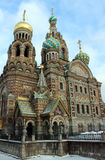 Igreja em St Petersburg, Rússia Imagens de Stock