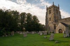 Igreja em Swindon foto de stock