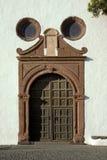 Igreja em Teguise, Lanzarote imagem de stock