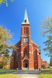Igreja em Trinec fotos de stock