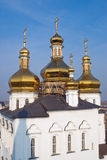 Igreja em Tyumen Fotos de Stock Royalty Free