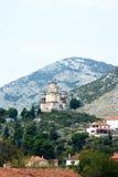 Igreja em um monte em Trebinje imagem de stock royalty free