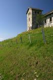 Igreja em uma cume 2 Foto de Stock Royalty Free
