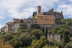 Igreja em uma parte superior da montanha Imagem de Stock Royalty Free