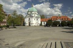 Igreja em Varsóvia Fotos de Stock Royalty Free