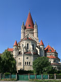 Igreja em Viena, Áustria Imagem de Stock Royalty Free