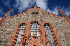Igreja em Viljandi Fotografia de Stock