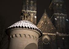 Igreja em Vysehrad, Praga Foto de Stock Royalty Free