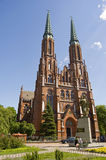 Igreja em Wasaw Foto de Stock