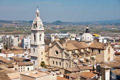 Igreja em Xativa, Espanha Imagem de Stock