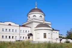 Igreja em Yekaterinburg, Rússia Fotos de Stock