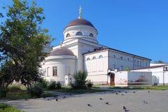 Igreja em Yekaterinburg, Rússia Foto de Stock