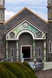 Igreja em Zarcero, Costa-Rica imagem de stock royalty free