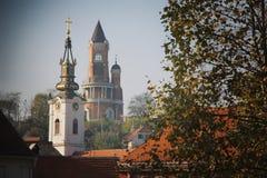 Igreja em Zemun imagens de stock royalty free