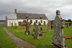Igreja Escócia de Edderton Fotos de Stock Royalty Free