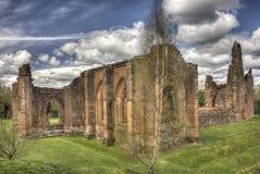 Igreja escolar de Lincluden - HDR de canto do sudeste Foto de Stock Royalty Free