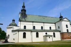 Igreja escolar em Pultusk Fotografia de Stock Royalty Free