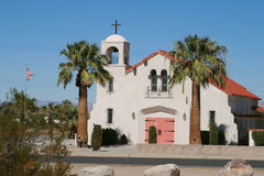 Igreja espanhola do estilo Imagem de Stock