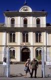 Igreja evangélica de Waldensian Fotografia de Stock Royalty Free