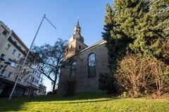 Igreja evangélica remscheid Alemanha Fotografia de Stock Royalty Free