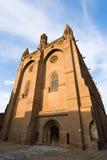 Igreja exterior de Jacobins fotografia de stock royalty free