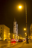 A igreja famosa de Ludwigskirche em Munich, Baviera Imagem de Stock Royalty Free