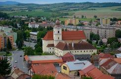 Igreja, Filekovo, Eslováquia fotos de stock