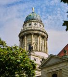 Igreja francesa da catedral em Berlin Germany foto de stock royalty free