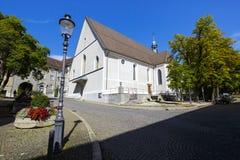 Igreja Franciscan em Solothurn Imagens de Stock