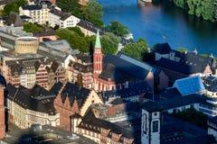 Igreja Francoforte de Nikolai foto de stock royalty free