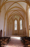 A igreja gótico velha no monastério cartuxo em Pleterje, Eslovênia fotos de stock royalty free