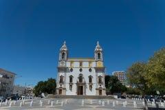 Igreja gör Carmo det berömda benkapellet, Portugal Royaltyfri Foto