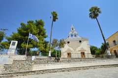 Igreja, Grécia Imagem de Stock