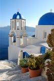 Igreja grega Fotos de Stock