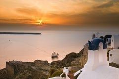 Igreja grega Fotografia de Stock